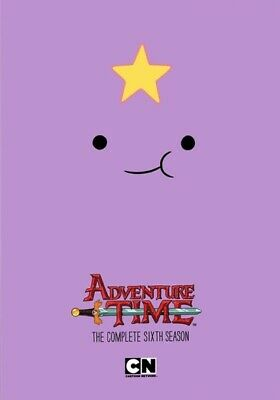 Adventure Time: The Complete Sixth Season (DVD,2016)