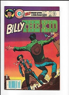 Billy The Kid #150 (Fn+) Charton Copper Western