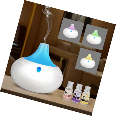 Sentik® 2 In 1 Aroma Diffuser and Humidifier with Colour Changing LED Lights, Ar