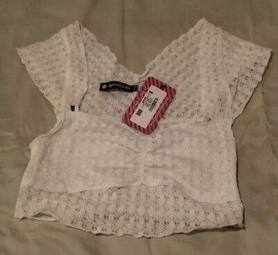 Sugar and Bruno Juliet Top NWT Child XL