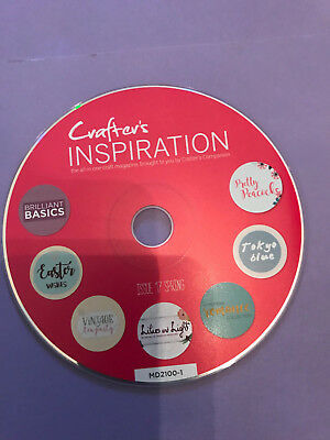 Crafters Inspiration Papercrafting Cd Rom Issue 17 Crafters Companion