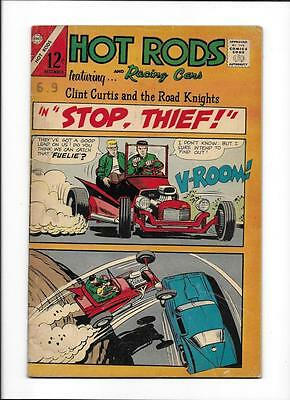 "Hot Rods & Racing Cars #82  [1966 Vg]  ""the Spoiler!"""