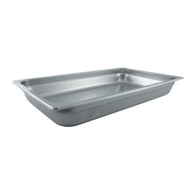 Winco - SPJL-102 - Full Size 2 1/2 in Deep Steam Table Pan