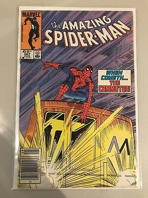 The Amazing Spider-Man #267 (Aug 1985, Marvel) When Cometh... The Commuter! VF-
