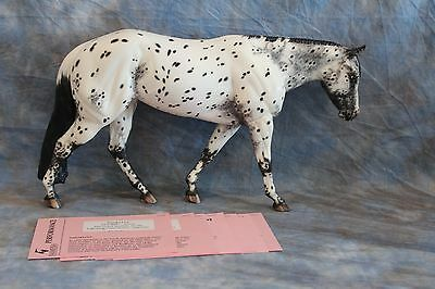 Artist Resin Varnish Roan Leopard Appaloosa Horse~ Multiple Live Show Winner