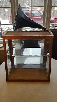 Victorian Slant Front Counter Top Showcase
