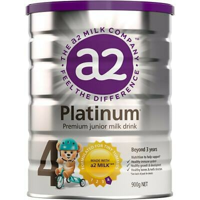 a2 Platinum Premium Junior Milk Drink (Stage 4) 900g - LIMIT 2 CANS PER ORDER