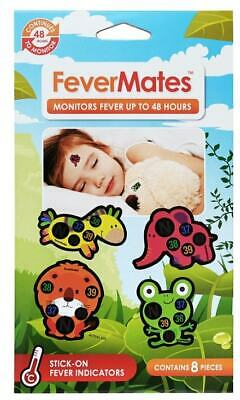 FeverMates Stick-On Thermometer X 8