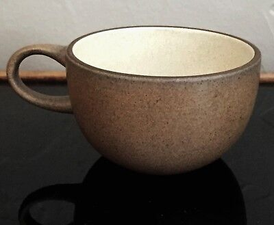 Heath Ceramics Pottery # 105 Coffee Tea Cup Mug Handle Sandalwood Brown Birch