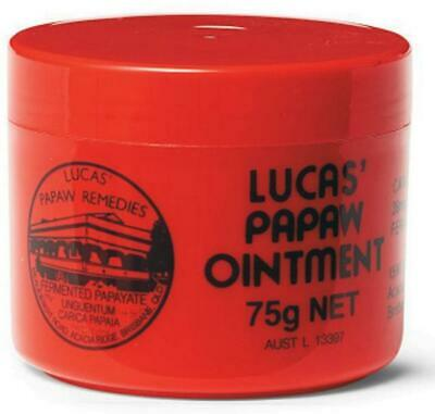New 75g Lucas' Papaw Ointment Abscesses Boils Bruises Burns Cuts Cysts Relief