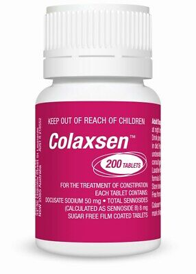 Colaxsen Tab X 200 (Generic for COLOXYL WITH SENNA)