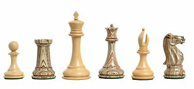 """Pieces Only USCF Sales The Collector Plastic Chess Set 4.0/"""" King Red /& Nat"""