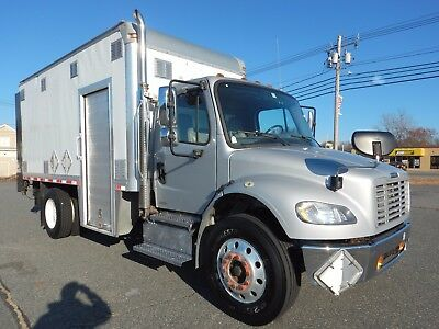 Freightliner M2 Cummins Diesel 16ft Box Truck 4400 lb Lift Gate Side Door 2011