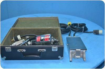Stryker 2010 Electro-Surgical Motor Assembly W/ Footswitch And Accessories @