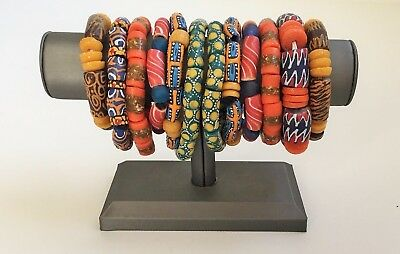 African Trade Bead Bracelet Africa Ghana Ethnic Authentic Jewelry2