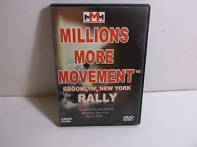A2      Louis Farrakhan Millions More Movement Brooklyn NEW YORK RALLY  DVD