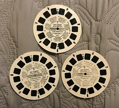 "Vintage Viewmaster 3 Reel ""Fat Albert And The Cosby Kids"""