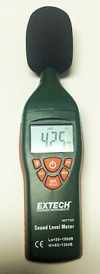 Extech 407732 Digital Sound Meter  - Never Used