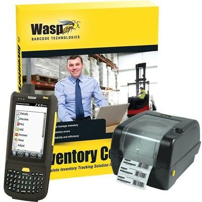 NEW Wasp Fast Start/silver Partners Wasp Inventory Control Rf 633808391348