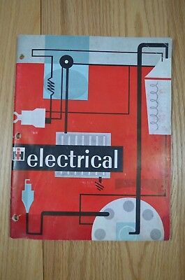 Vintage 1961 International Harvester Electrical Manual Booklet fw