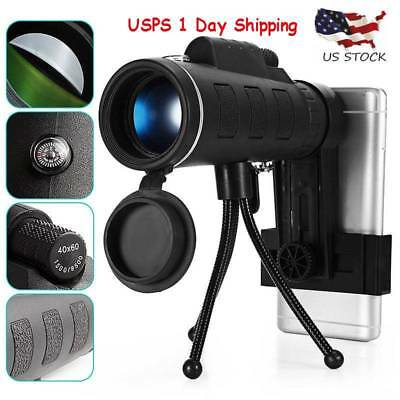 HAWK EYE V2 SCOPE - Monocular Telescope Night Vision Zoom Mobile / FREE SHIPPING