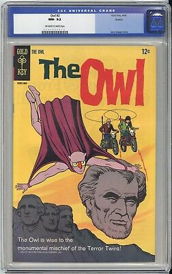 The OWL #2  CGC NM 9.2 - VERY OLD LABEL - BOSTON PEDIGREE - A GORGEOUS BOOK