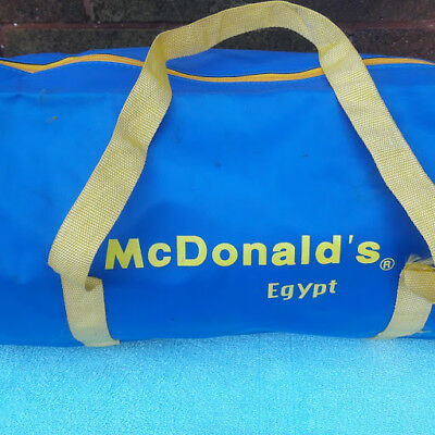 McDonald's In Egypt Small Duffel Bag