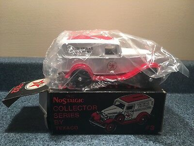 New 1986 Texaco Nostalgic  #3 1932 Ford Delivery Bank Stock # 9396Uo