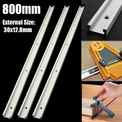 1~4Pcs 800mm T-slot T-tracks Miter Track Jig Fixture Slot Tool for Router Table