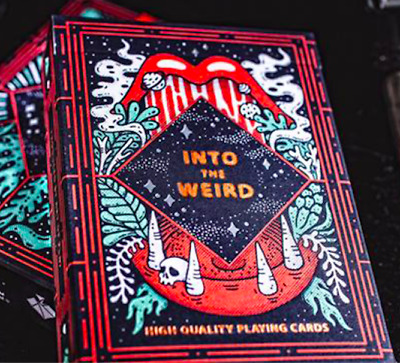 Into the Weird Playing Cards by Art of Play from Murphy's Magic