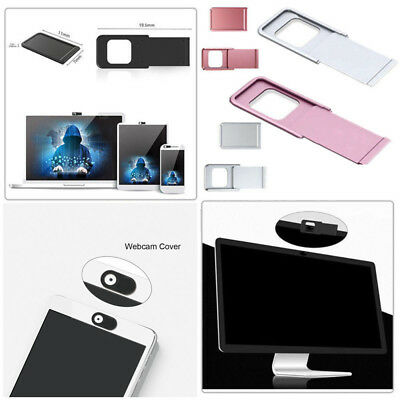 Webcam Cover Aluminum Alloy Camera Protector Privacy Shield for Laptop Pad Phone