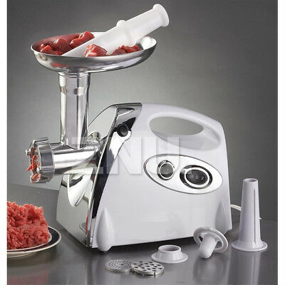 COMMERCIAL /HOME ELECTRIC MEAT GRINDER / MINCER Sausage filler Maker 2800W POWER
