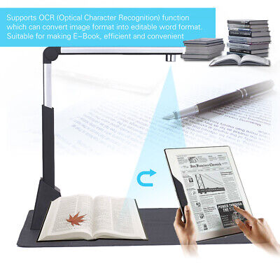 Office USB Portable Overhead High-Speed 10MP A3 Photo &Document Scanner With OCR