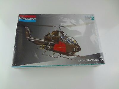 Monogram 1/48 AH-1S Cobra Helicopter Model Kit