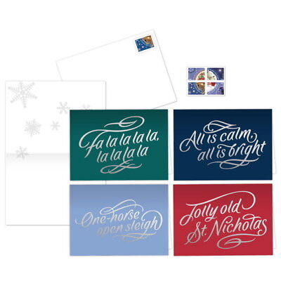 USPS New Christmas Carol Notecards
