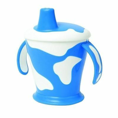 Haberman Anywayup Cow Cup Blue 250ml 1 2 3 6 12 Packs