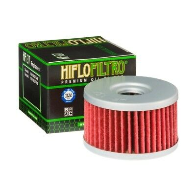 HIFLO oil filter HF137 Suzuki XF 650 U Freewind 1997-2002