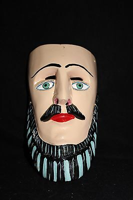 112 FACE DANCE MEXICAN WOODEN MASK mascara danza artesania authentic characters
