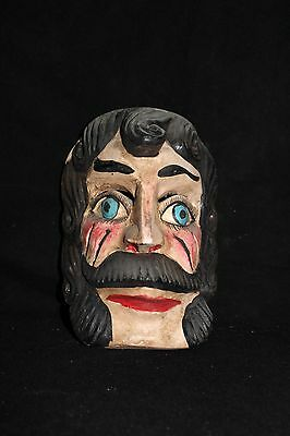 128 FACE MEXICAN WOODEN MASK mascara artesania mexicana wall decor madera arte
