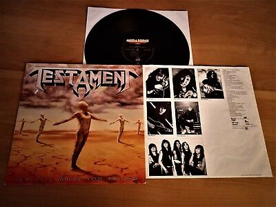 TESTAMENT - LP - Practice what you preach - Slayer - Exodus - Kreator - SOD- CD