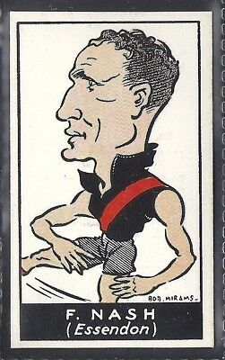Carreras (Australia)-Aussie Rules Football Series-#37- Essendon - Nash