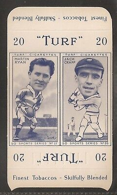 Carreras-Uncut Double Turf Slide-Sports Series-#11#35- Rugby - Cricket