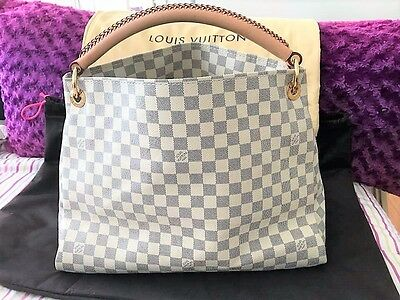 81ba7e1107f3 AUTHENTIC LOUIS VUITTON Damier Azur Artsy MM - Excellent Condition ...