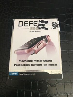 X-Doria Defense Edge Metal Guard Apple Watch 38mm Rose