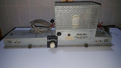 Hammond B3, C3 Organ Mate Reverb Assy. Tube Amplifier