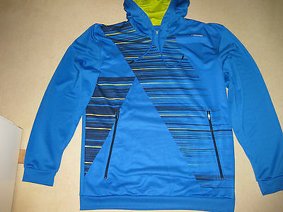 HEAD Head Herren SPEED Graphic Hoody - XXL - wie NEU - blau