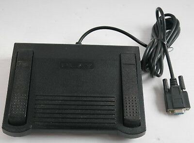 Infinity Transcriber Dictation Foot Control Pedal IN-DB9 - Fast FREE SHIPPIING