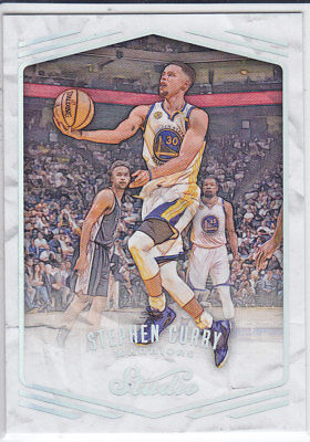 2016/17 Panini STUDIO SKETCH #201 STEPHEN CURRY Warriors MEGARARE 1:1000