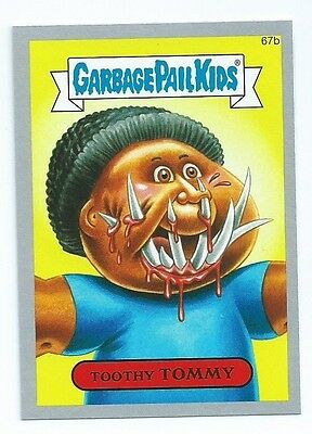 2014 Garbage Pail Kids brand new series  BNS2 silver lot 66 of 132