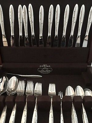 CELESTE BY GORHAM 1956 Mid-Century Sterling Silver Silverware Antique